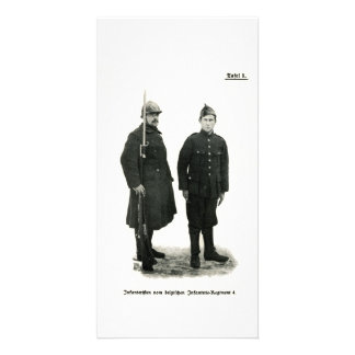 Belgian Infantry, World War I Card