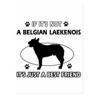 BELGIAN LAEKENOIS best friend designs Postcard
