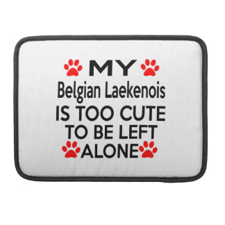 Belgian Laekenois Designs Sleeve For MacBooks