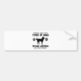 Belgian Lakenois designs Bumper Sticker