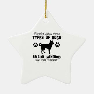 Belgian Lakenois designs Ceramic Ornament