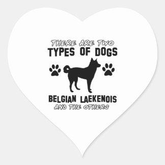 Belgian Lakenois designs Heart Sticker