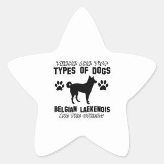 Belgian Lakenois designs Star Sticker