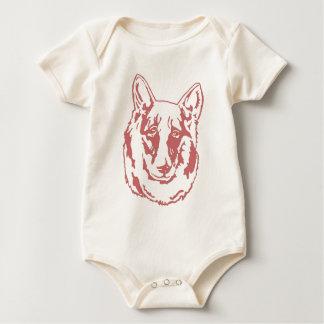 Belgian Malamute Baby Bodysuit