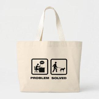 Belgian Malinois Tote Bags