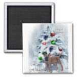 Belgian Malinois Christmas Gifts 2 Inch Square Magnet