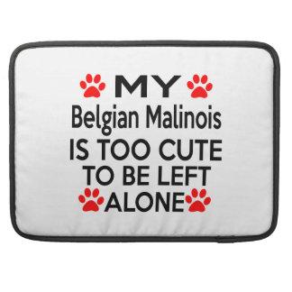 Belgian Malinois Designs Sleeves For MacBook Pro