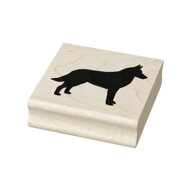 BELGIAN MALANOIS Dog paw print License Plate Frame
