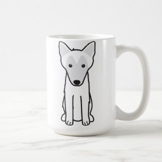 Belgian Malinois Dog Cartoon Mugs