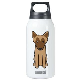 Belgian Malinois Dog Cartoon Thermos Bottle