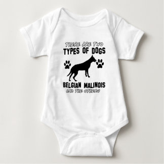 Belgian Malinois dog designs Baby Bodysuit