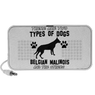 Belgian Malinois dog designs Mini Speaker