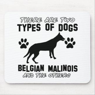 Belgian Malinois dog designs Mouse Pad