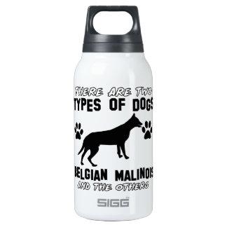 Belgian Malinois dog designs Thermos Bottle