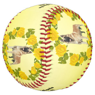 Belgian Malinois Dogs Rock!! and Yellow Roses Softball