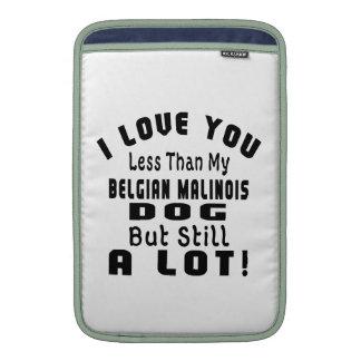 BELGIAN MALINOIS FUNNY DESIGNS MacBook SLEEVES