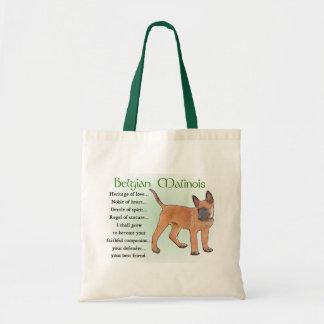 Belgian Malinois Gifts Tote Bag
