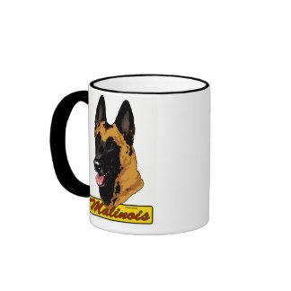 Belgian Malinois Headstudy Coffee Mug