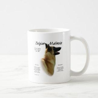 Belgian Malinois History Design Coffee Mug