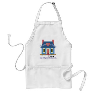Belgian Malinois Home Is Adult Apron
