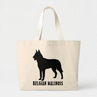 Belgian Malinois Large Tote Bag