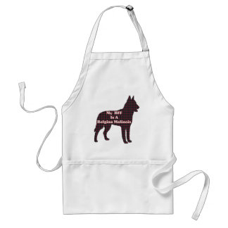 Belgian Malinois Lovers Gifts Adult Apron