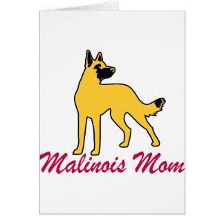 Belgian Malinois Mom Card