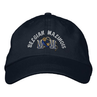 Belgian Malinois Mom Gifts Embroidered Baseball Hat