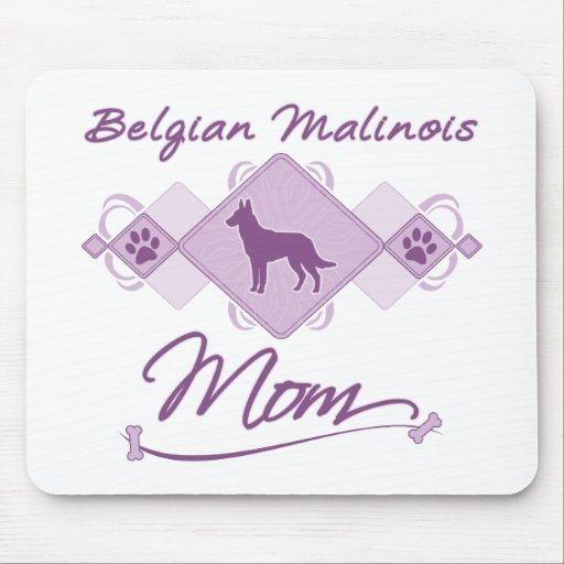 Belgian Malinois Mom Mouse Pad