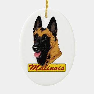 Belgian Malinois ornament