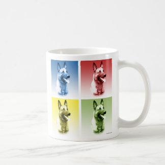 Belgian Malinois Pop Art Coffee Mugs
