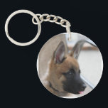 "Belgian Malinois Puppy Keychain<br><div class=""desc"">Belgian Malinois Puppy Keychain</div>"