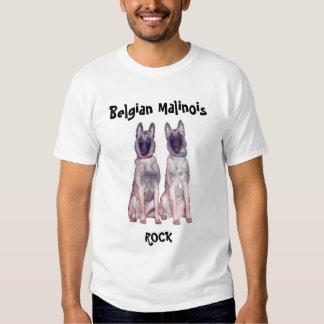 Belgian Malinois Rock Tee Shirt
