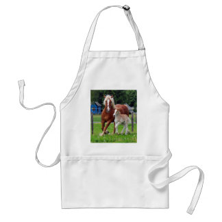 belgian Mare and Filly Apron
