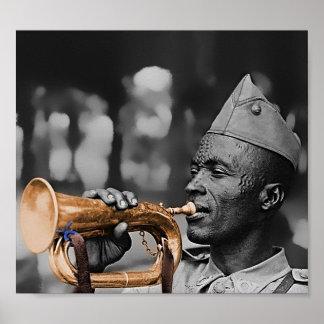 Belgian Musician - 1943 Poster