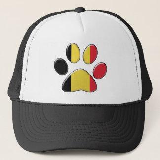 Belgian patriotic cat trucker hat