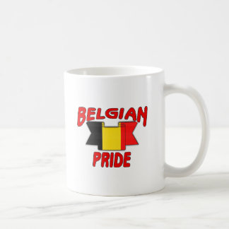 Belgian pride coffee mug