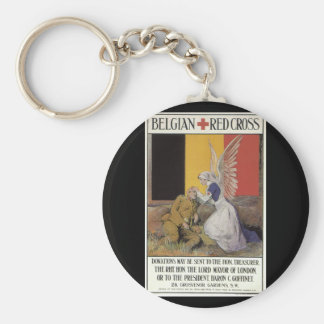 Belgian Red Cross (unknown)_Propaganda Poster Keychain