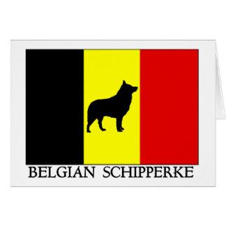 Belgian Schipperke Card