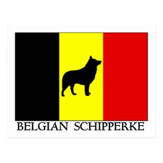 Belgian Schipperke Postcard
