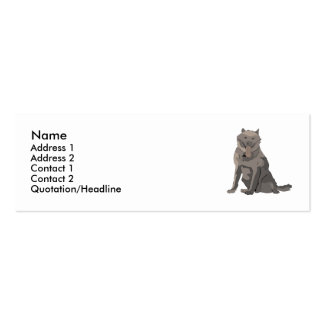 Belgian Sheepdog Business Card Templates