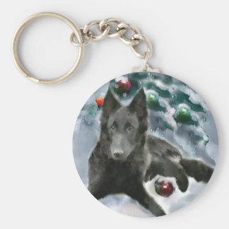 Belgian Sheepdog Christmas Gifts Key Chains