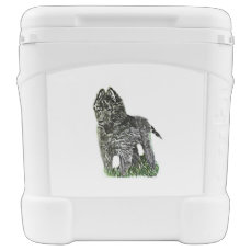 Belgian Sheepdog Cooler