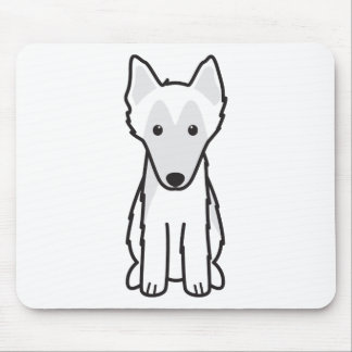 Belgian Sheepdog Dog Cartoon Mouse Pad