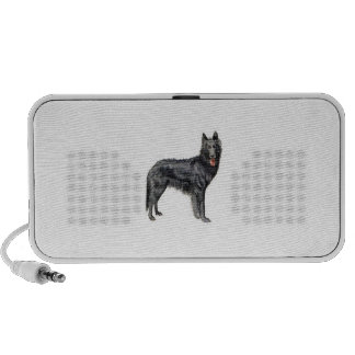 Belgian Sheepdog Doodle Portable Speaker