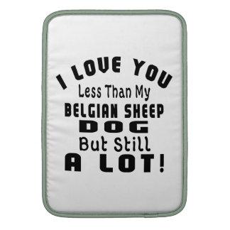 BELGIAN SHEEPDOG FUNNY DESIGNS SLEEVES FOR MacBook AIR