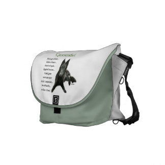Belgian Sheepdog Heritage of Love Courier Bags