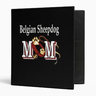 Belgian Sheepdog Mom Binder