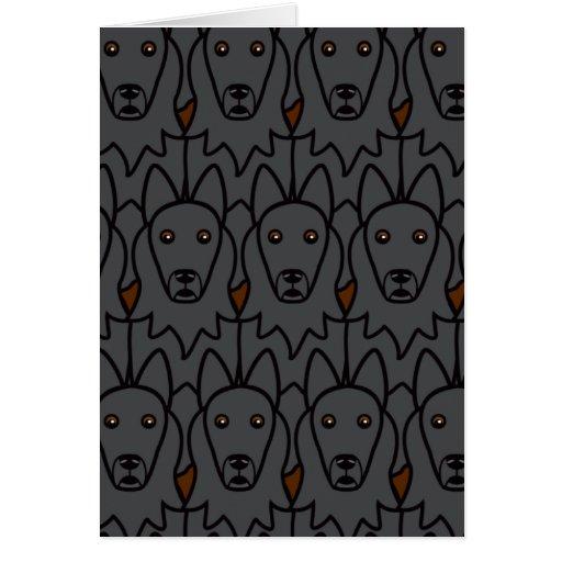 Belgian Sheepdogs Cards