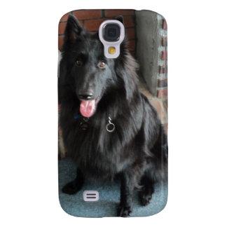 "Belgian Shepherd aka ""The Black Wolf"" Galaxy S4 Cover"